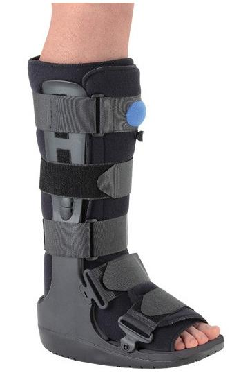 What Shoe To Wear With Aircast Boot